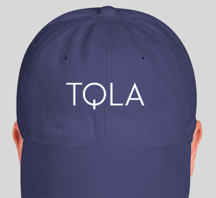 TQLA Dad Hat Front